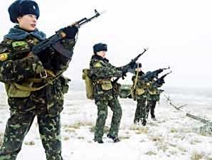 Девушки в украинской армии