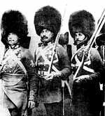 Английские пехотинцы. Фото 1854 года