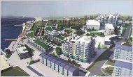 Проект реконструкции «Строителя»: городская набережная, связывающая общедоступные пляжи «Солнечный» и «Песочный»