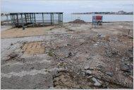 Через месяц этот коммунальный пляж должен соответствовать требованиям Голубого флага